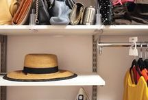Closet Organization Tips / Closet makeover ideas and quick tips to help you get organized!