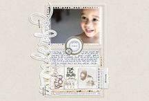 more scrapbooking inspiration / by Kathleen Summers
