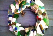 Sea Glass Wreaths and Windchimes / by Kathi Artigliere