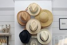 Hat Organization / Chic ways to store, organize and display your hat collection