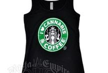 I love Cannabis and Coffee merchandise / website:       www.Ilovecannabisandcoffee.com  lists all of their retailers - - online and local  -- it's parody ! / by Nancy Draper Jewelry