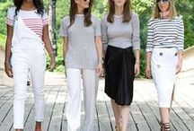 Fresh Ways To Wear Stripes / How to style stripes with tons of outfit ideas for all seasons!