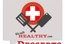 Healthy Desserts / All the health, all the taste. A GREAT compromise between the sweet lovers and the healthy addicts in your family! Want to collaborate? Great! Follow WeTalkHealthy and comment on one of my pins here: https://www.pinterest.com/akersmomma/we-talk-healthy-blog/ Simple rules: leave a pin share a pin, and pin away.