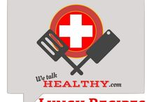 Lunch Recipes / If you'd like to collaborate follow We Talk Healthy and comment on one of my pins.