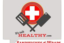 Sandwiches & Wraps / Want to collaborate? Great! Follow WeTalkHealthy and comment on one of my pins here: https://www.pinterest.com/akersmomma/we-talk-healthy-blog/ Simple rules: leave a pin share a pin, and pin away.