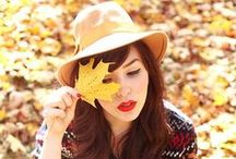 fall styles / Fall is here! Enjoy the best fall styles and be inspired by colors, textures and shapes.