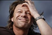 Sean Bean.....Love him! / You will see no other men on my board, to me he has gotten even more beautiful as he has gotten older.  / by Valerie Wells