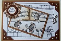 ATC's, ARC's, Inches, AIC's / Artist Trading Cards, Altered Rolodex Cards, Inches,Altered Index Cards / by Valerie Wells