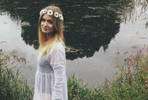 Fairy-Tale Fashion / A story of fresh forest fashion and ethereal style.
