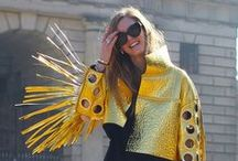 MFW street styles / Enjoy the last fashion trends inspired by the MFW!