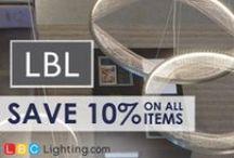 April Sale - LBL Lighting / 10% off all LBL items! Shop today at https://www.lbclighting.com/lbl-lighting / by LBC Lighting