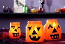 Halloween Ideen / Verkleiden, Süßigkeiten und eine gehörige Portion Grusel: Kein Wunder, dass Halloween immer beliebter wird! Hier gibt's Ideen rund um die Gespenster-Party: