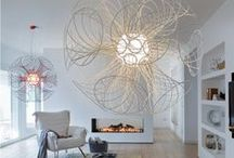 Living Room Design / Lounge inspirations for your home. Oh, so comfy. / by LBC Lighting