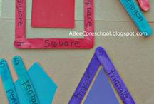Elementary Geometry Teaching Ideas / Activities, projects, lessons, and ideas for teaching geometry and shapes in first grade, second grade, and third grade