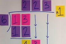 Multiplication and Division Teaching Ideas / Activities, ideas, strategies, and anchor charts for teaching multiplication and division in the elementary classroom