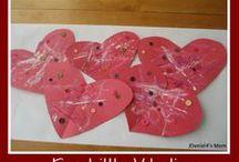 Valentines day crafts / by Carol Schmidt