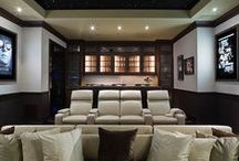 theatres and media rooms / by Leanne Tammaro