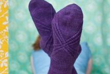 KNITTING : mittens, socks