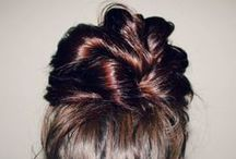 Hair ideas  / All about hair style, color, ideas, & how to's / by Mariah Gutierrez