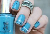 n a i l / painted nails , nail polish , decorations for nails , nail art