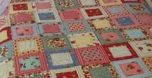 Quilting Love / I've always admired quilt making.  What talent and patience that goes into these beautiful creations.