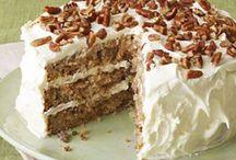 Food: cake and something alike...