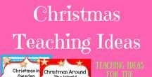 ** Christmas Teaching Ideas ** / Teaching products and ideas for the holiday season for all grades including Christmas around the world, crafts, Christmas cards, unit plans, lesson ideas, activities and free downloads.