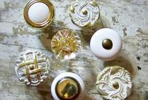Cabinet/Drawer Knobs/Pulls / by Karen Case