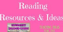 Reading Resources & Ideas / Ideas for teaching reading to primary school students, including reading strategies, reading comprehension packs, spelling and early phonics work.