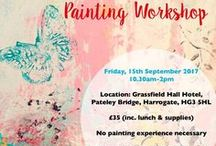 My Events + Workshops / For more details and to book your place on my 2017 workshops and to look at prior workshops, please head to: https://www.janehinchliffe.com/artworkshop/