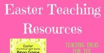 ** Easter Teaching Ideas ** / Easter teaching ideas for the primary classroom including crafts, printables and lesson ideas.