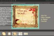 Tutorials & Videos Using Crafty Secrets Vintage Images and Clear Art Stamps / by Crafty Secrets