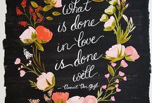 Quotes <> Verses / by Kristen Reid