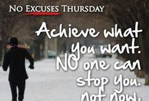 NO EXCUSES THURSDAY! / Crush your excuses! / by JumpSport Trampolines