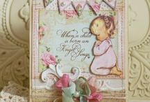 Angels, Cherubs and Blessings Themes using Crafty Secrets / Samples created using any of our angel or blessing theme Crafty Secrets images or Clear Art Stamp Sets / by Crafty Secrets