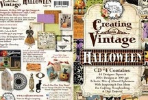 CD 4 Halloween, also as a Digital Download from Crafty Secrets / by Crafty Secrets