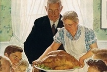 Fall...from ghosts to turkeys.. decore to food / by Pamela Hood