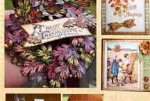 Thanksgiving Vintage Digital Download Kit for $10.99 / by Crafty Secrets