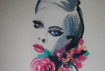100 Day Project 2014 / FINK - Fashion Illustrations in ink only