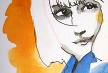 Artist in Residence / fashion illustrators