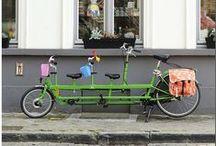 Onderwater tandem / De Onderwater is een tandem voor ouders en kinderen en daardoor ideaal voor stadsfietsers. Je vervoert er makkelijk drie kinderen (of meer) mee en toch heb je maar 1 fiets te besturen! Ideaal!