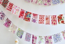 Garlands Buntings and Mobiles / I hope these never go out of style. / by Roseanna Bogley