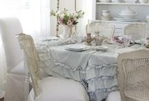 En la mesa: sofisticadas y sencillas.