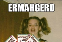 ERMAHGERD! / ERMAHGERD, thers berd rerks.  / by The Bearded Iris