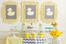 Baby Shower - Party / Baby shower party ideas, games, themes, decorations, gifts, food, favors,  invitations, cakes and MORE for boys and girls baby showers. Let's celebrate that new bundle of joy! / by The Gracious Wife