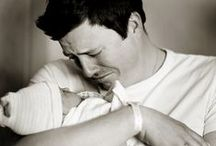 Baby + Daddy / Our heart melts for these baby and daddy moments!
