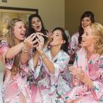 Weddings | Bridal Preparation / The morning of your wedding is an exciting (and somewhat nervous) time. Having your best girls by your side while you prepare to marry the love of your life is something we simply adore!