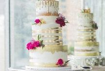 Weddings | Cake / Cake is one of the major food groups right?! It's one of our favourite foods here at Let's Bee Together HQ! Wedding cake is even more special because it's made with extra love and attention! Yum yum!