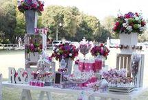 Candy Bar :) / Las mas hermosas y chic mesas de dulces y postres