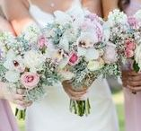 Weddings | Bridal Boquets / If we could walk around with bouquets in our hands at all times and not be looked at strangely then we definitely would. We love bridal bouquets!